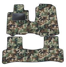 Armee-Tarnungs Autoteppich Autofußmatten Auto-Matten für Honda CR-V III 2006-12