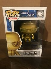 New ListingWwe The Rock SmackdownLive 20th Anniversary Gold Funko Pop! w/ Soft Protector
