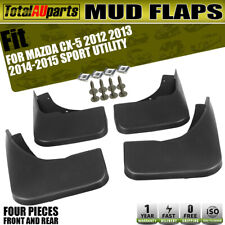 4pcs Mud Flaps Splash Guards Mudflap Fit for Mazda CX-5 2012-2015 Front and Rear