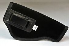 SUEDE LEATHER INSIDE THE PANTS GUN HOLSTER FITS 410 JUDGE - BLACK