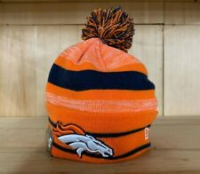 hot sale online 25d28 8cd56 Era 2019 NFL Denver Broncos Cuff Pom Knit Hat Beanie Stocking Winter Skull