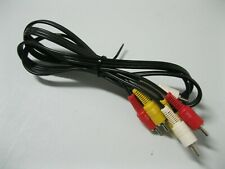 New listing 3 Male Rca to 3 Male Rca Composite Video Audio Av Cable for Tv Dvd 4.5 ft.