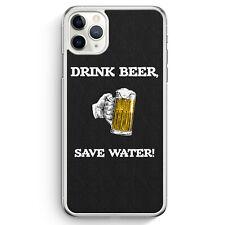 Drink Beer, Save Water iPhone 11 Pro Max Hülle Motiv Design Spruch Lustig Coo...