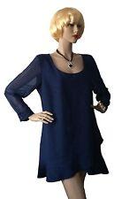 Festliche Langarm Damenkleider im Tuniken-Stil