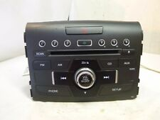 12 13 14 Honda Crv CR-V Radio Cd MP3 Player 39100-T0A-A520 1XNA BXP125