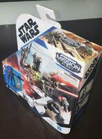 """STAR WARS MISSION FLEET MANDALORIAN IG-11 & CHILD / Grogu SPEEDER BIKE 2.5""""  SET"""