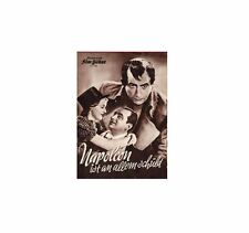 NAPOLEON IST AN ALLEM SCHULD (1938) *with switchable English and Spanish subs*
