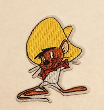Looney Tunes Speedy Gonzales Embroidered Iron On/Sew On Patch