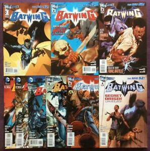 Batwing #1 to #9. DC 2011. 9 x issues.