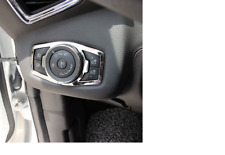Stainless Steel Headlight Switch Trim Ford Focus 3 4 MK3 Mk4 Kuga Escape