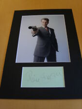 Pierce Brosnan James Bond Genuine signed authentic autograph - UACC / AFTAL.