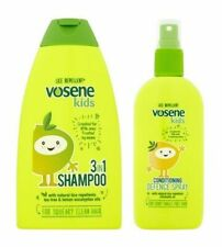 Kids Head Lice Repellent (Vosene): 3 in 1 Shampoo OR Conditioning Defence Spray