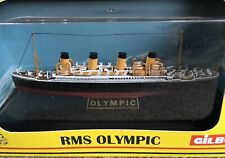 Gilbow Model RMS Olympic E10003 Boxed White Star Line Ship 1:1750