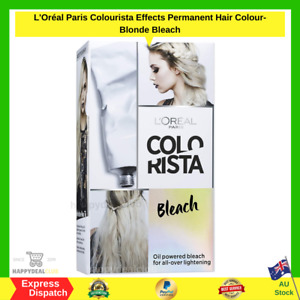 L'Oréal Paris Colourista Effects Permanent Hair Colour- Blonde Bleach NEW AU