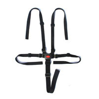 Baby Pram Stroller 5 Point  Harness Safe Belt For High Chair Kid Pushchair Strap