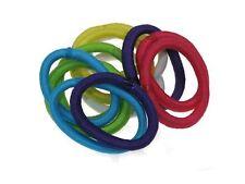 Chicas colores brillantes pequeño Snag libres Cinta para el pelo vincha Elásticos motas no Metal