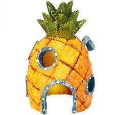 14cm Aquarium Spongebob Squarepants Pineapple House Fish Tank Ornament Home Hot