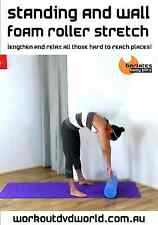 Stretch EXERCISE DVD - Barlates Body Blitz Standing + Wall FOAM ROLLER STRETCH!