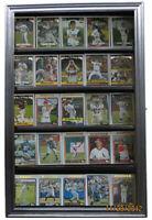 Football Baseball Basektball Hockey Comic Card Display Case Cabinet Shadow Box