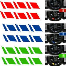 6pcs Car Wheel Rim Sticker Universal Reflective Vinyl Decal Mark For 16 21 Fits 2012 Malibu