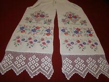 Vintage Ukrainian  embroidered  rushnyk  Cherkasy region # 206