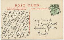 "2455 ""HOUNSLOW""  Squared Circle Postmark (Cohen Type 3rd II CT) superb strike pc"