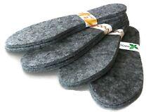 Extra Dicke 7 mm Schuheinlagen 1 Paar Filzsohlen Einlegesohlen Gr. 40-46