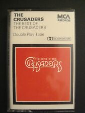 The Crusaders, The Best Of The Crusaders, Rare 1976 MCA Cassette MCLDC 602