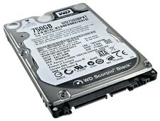 Western Digital Scorpio Black 750 GB 2.5 Internal 7200 RPM WD7500BPKT