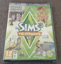 PC Game The Sims 3 Town Life Stuff Expansion Pack New Sealed French Version Eng