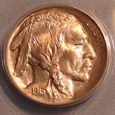 - 1913 US Buffalo Nickel Type 1 Gem Uncirculated Unc ANACS MS 64