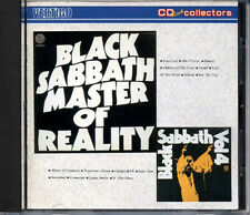 BLACK SABBATH 2 in 1 CD Master of Reality + Vol.4 JAPAN ONLY 1987 33PD-354 RARE