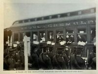 1905 Japan Opening Korea By Railroad illustrated