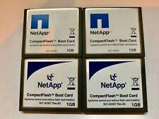 Lot Of 4x NetApp 1GB CF Compact Flash Memory Cards