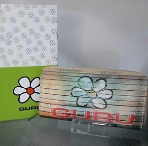 Portafoglio donna GURU in eco pelle portamonete carte credito banconote