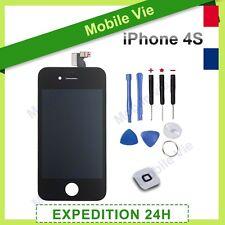 ECRAN IPHONE 4S NOIR VITRE TACTILE + RETINA ORIGINAL LCD SUR CHASSIS