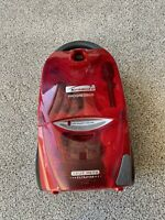 Kenmore 116 Progressive True Hepa Canister Only Vacuum 12 Amp Red Gray