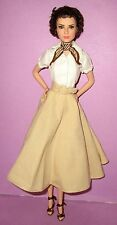 Barbie Audrey Hepburn Model Muse Roman Holiday Loose Doll Collector Pretty