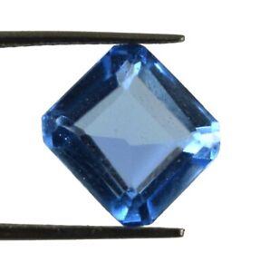 Ebay 5.35 Ct Natural Imperial Blue Topaz Octagon Cut Gemstone Certified X509