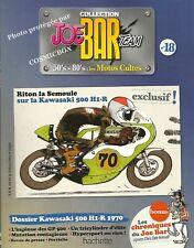 Joe Bar Team BD revue moto KAWASAKI 500 H1-R  ZX6 RR hypersport motor booklet 18