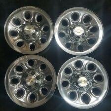 "A SET 17"" CHEVY SILVERADO SUBURBAN 1500 TAHOE 05-14 CHROME STEEL Wheel Rim 5223"