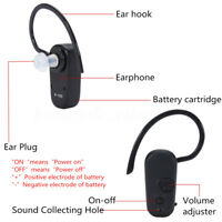 bluetooth Type Hearing Aid Volume Adjustable Sound Voice Amplifier Behind Ear