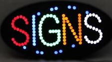 Led neon sign, store sign, business sign, window sign with Signs Display