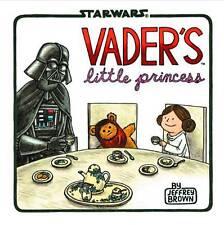 VADERS LITTLE PRINCESS HARDCOVER Jeffrey Brown Star Wars Humor Comics HC Darth