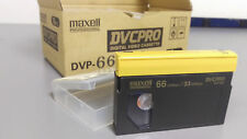 Box of 10 New Maxell DVCPRO DVP-66M Digital Video Cassettes