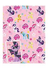 Mi Pequeño Pony envoltorio de papel (2 X Hoja De Envoltura De Regalo & Etiquetas De Regalo) Envío Gratis!