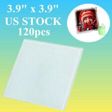 Usa 120pcslot 39 X 39 Square Heat Transfer Sublimation Blank Glass Coaster