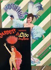 Paris NIghtlife Souvenir Programs Collection of 6