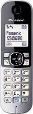 Panasonic kx-tg6811 kx-tga681 Combiné Noir-Argent
