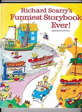 Richard Scarry's Funniest Storybook Ever!---hc---1982---Random House